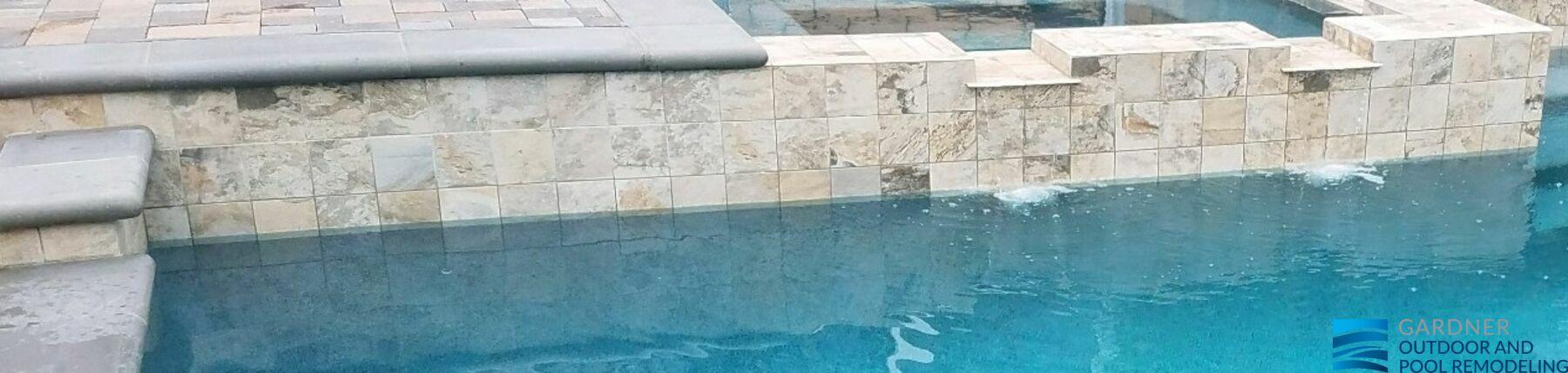 Pool Tiles Renovation In California Gardner Outdoor And Pool Remodeling